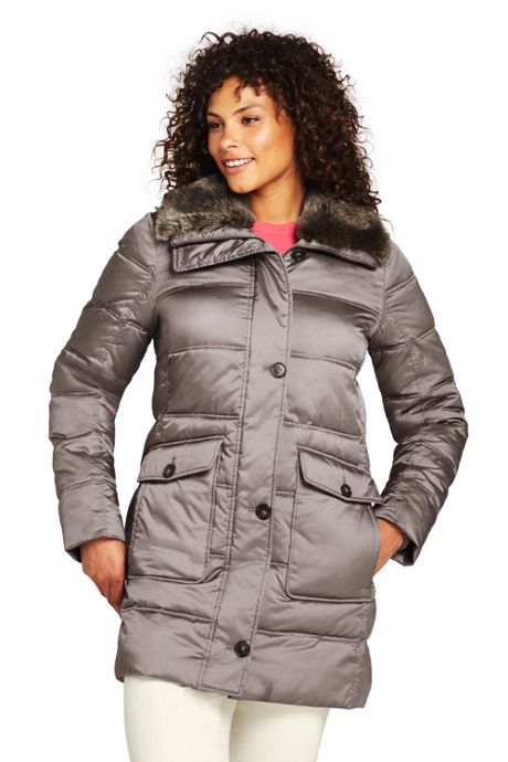 Women's Plus Size Insulated Winter Parka