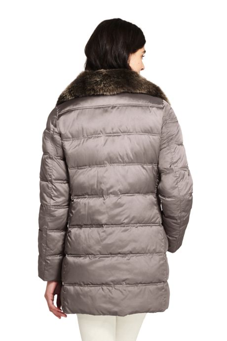 Women's Tall Insulated Winter Parka
