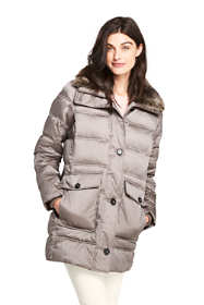 Women's Insulated Winter Puffer Parka