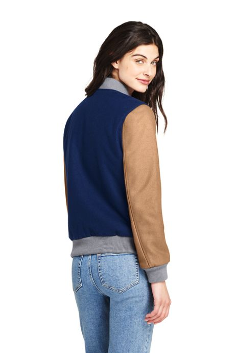 Women's Varsity Wool Jacket