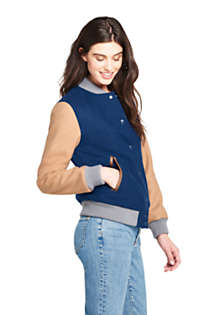 Women's Varsity Wool Jacket, alternative image