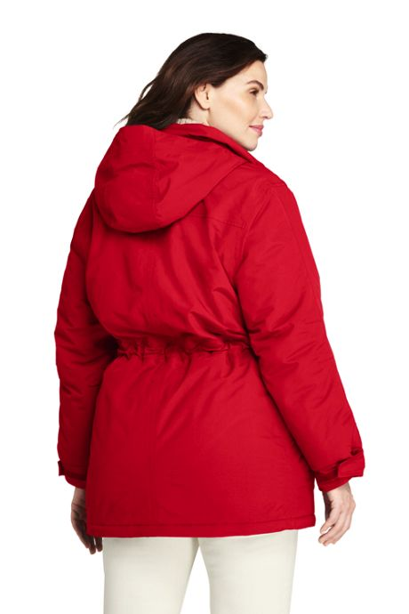 Women's Plus Size Petite Squall Insulated Winter Parka