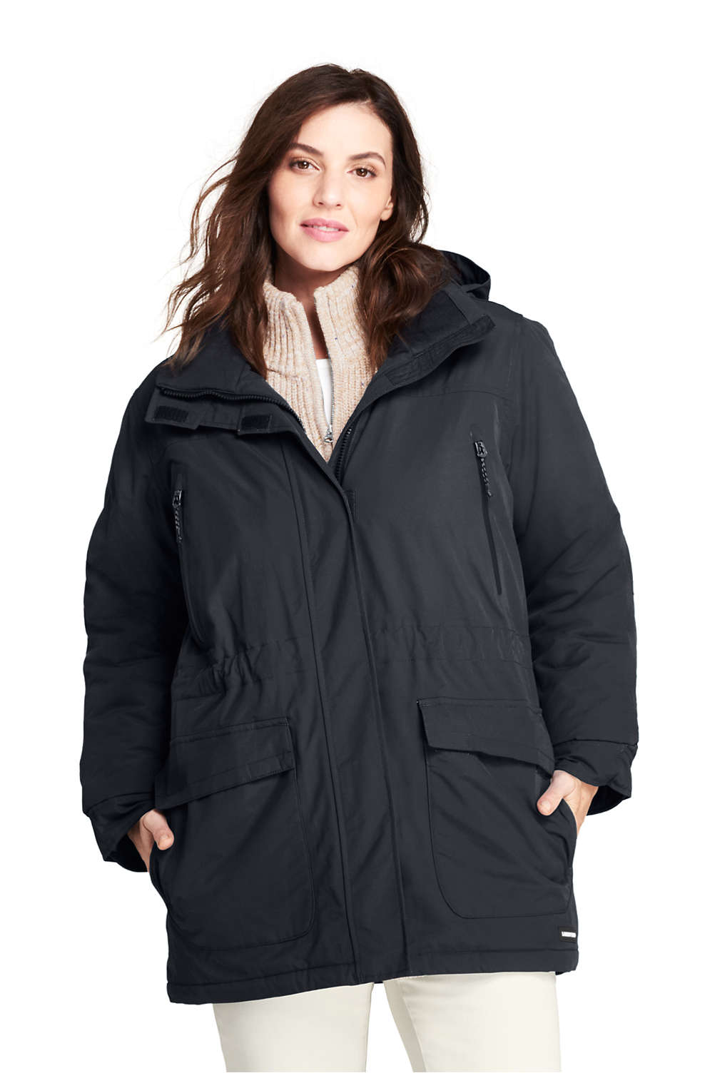 9945e20048 Women's Plus Size Squall Insulated Winter Parka from Lands' End