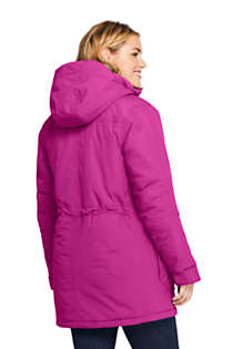 Women's Plus Size Petite Squall Insulated Winter Parka, Back