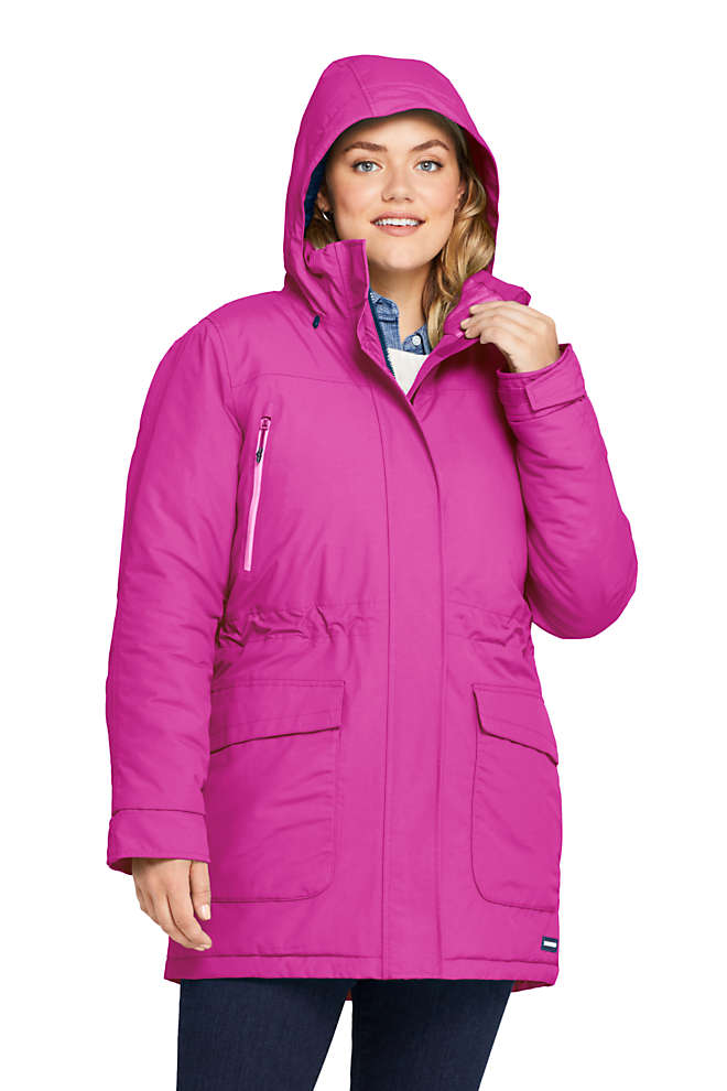 Women's Plus Size Petite Squall Insulated Winter Parka, Front