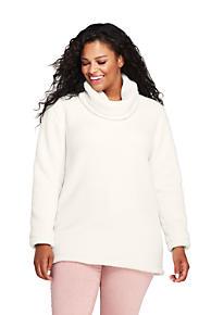 e0d320e8a23 Women s Plus Size Cozy Sherpa Fleece Pullover