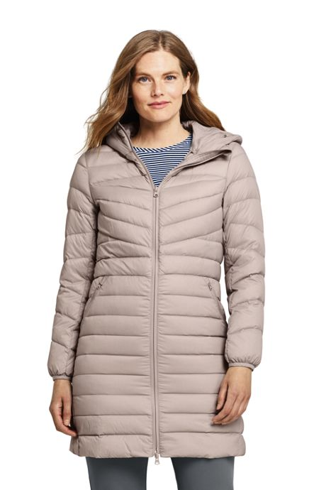 Women's Tall Ultralight Packable Long Down Coat
