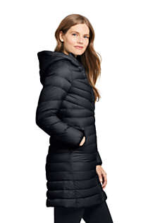 Women's Ultralight Packable Long Down Coat, Unknown