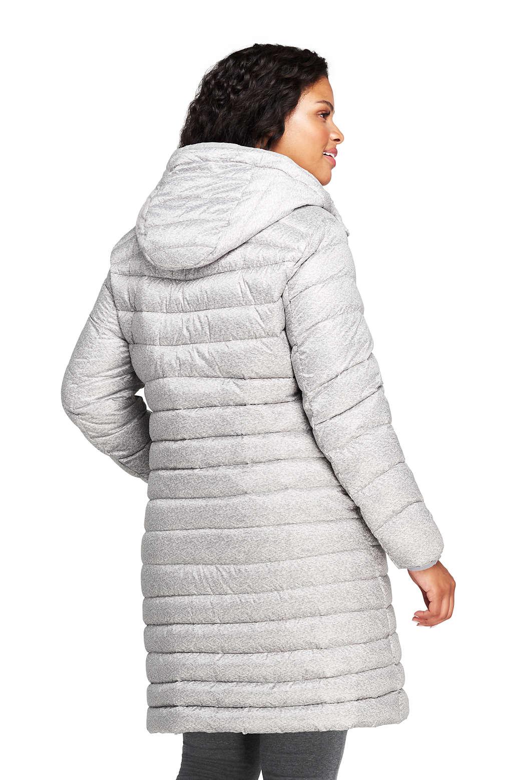 f30c9cc3612 Women s Plus Size Ultralight Packable Long Down Coat from Lands  End