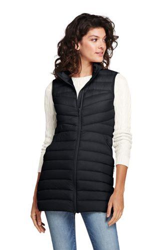 f3eb6ebefb9 Women s Ultralight Long Down Puffer Vest Packable