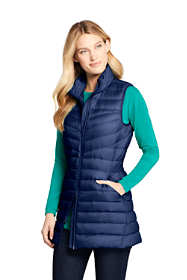 Women's Tall Ultralight Packable Down Vest