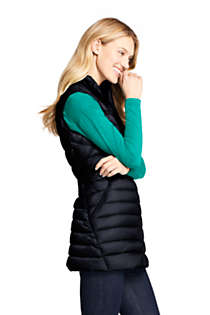 Women's Petite Ultralight Packable Down Vest, alternative image