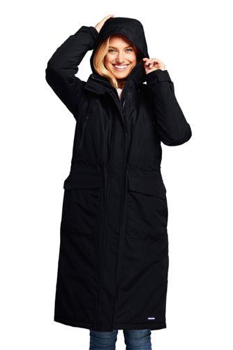Women's Petite Squall Insulated Long Stadium Coat