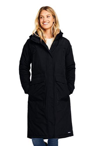 Langer Isolierter Mantel SQUALL® für Damen in Petite-Größe