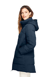 Women's Stretch Long Down Coat, Unknown