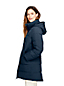 Women's Faux Fur Hooded And Lined Down Coat with Stretch