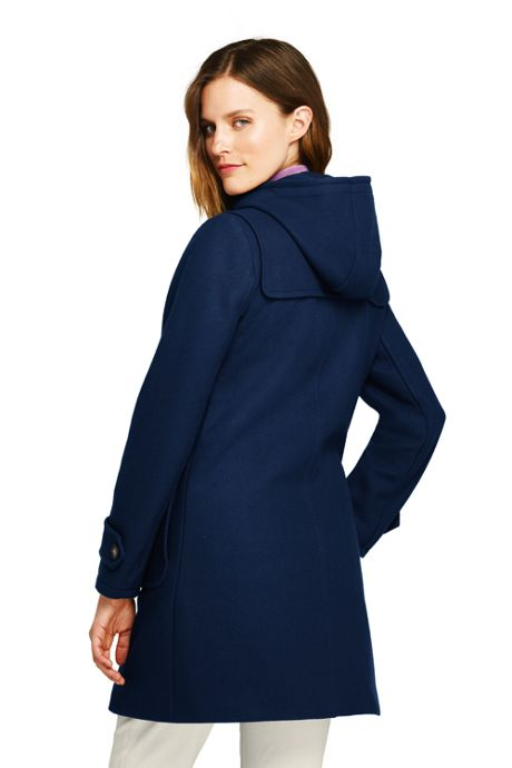 Women's Duffle Long Wool Coat