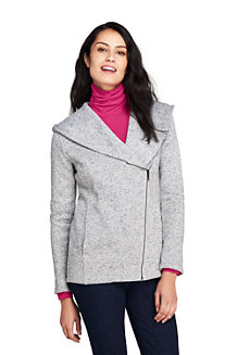Women's Hooded Waterfall Fleece Jacket