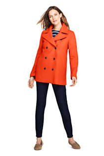 Women's Petite Wool Peacoat, alternative image