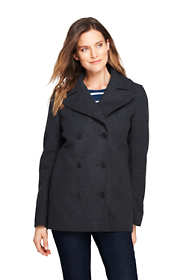 Women's Tall Wool Peacoat