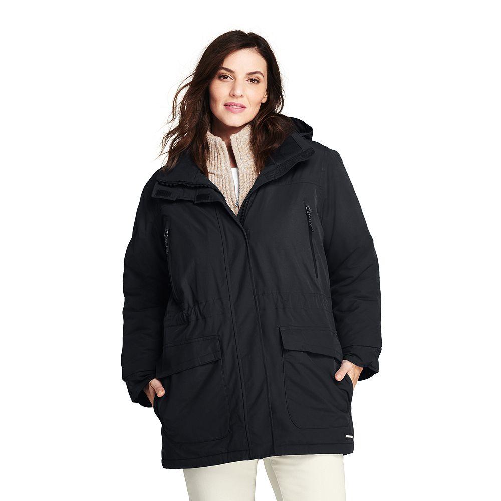 Womens plus size petite winter parka — 8