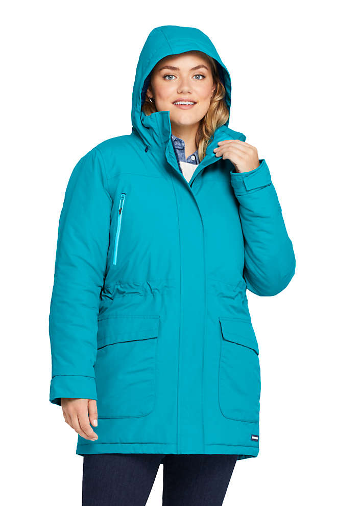Women's Plus Size Petite Squall Winter Parka, Front