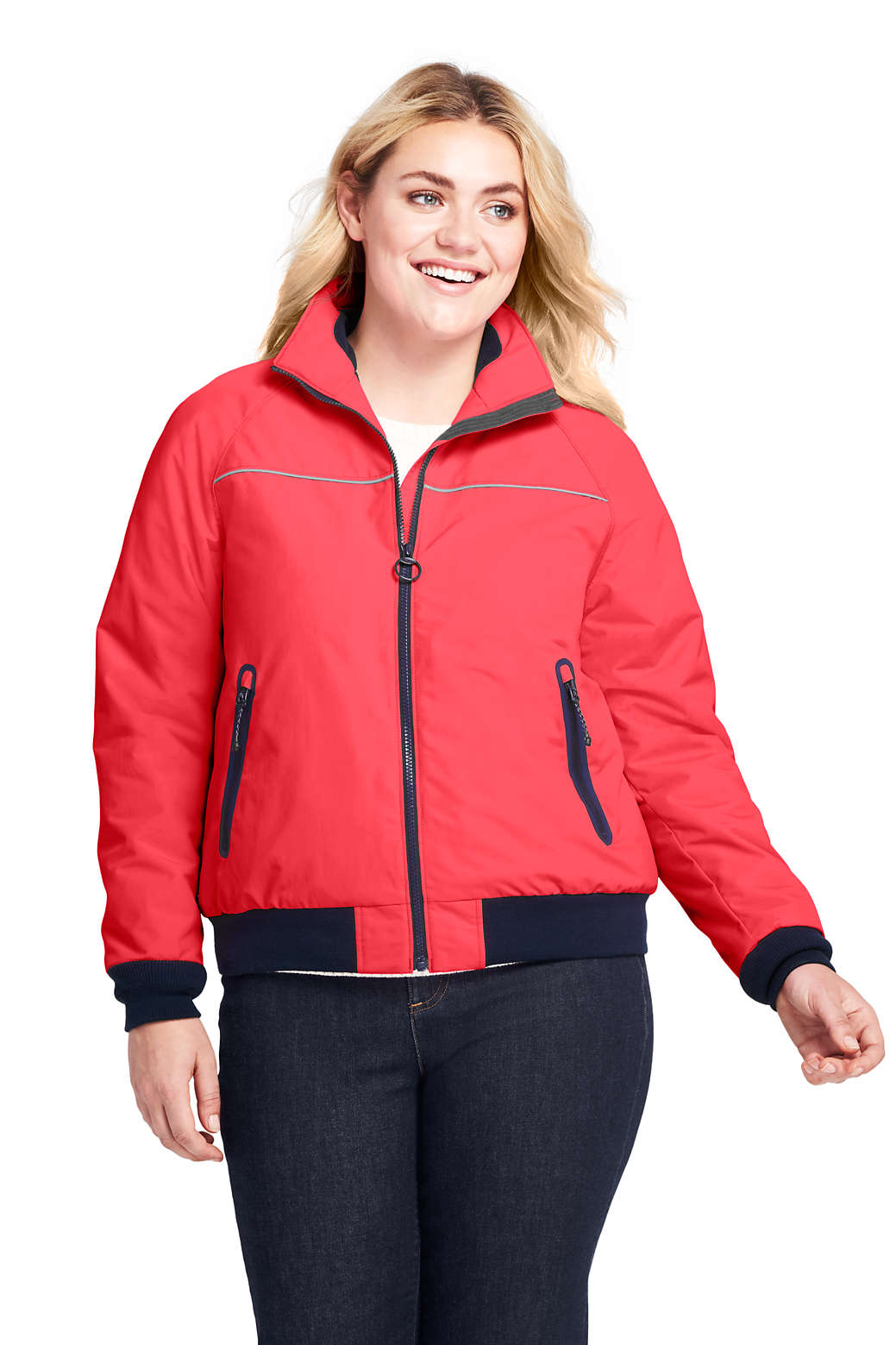 ae97d8f442 Women s Plus Size Squall Jacket from Lands  End