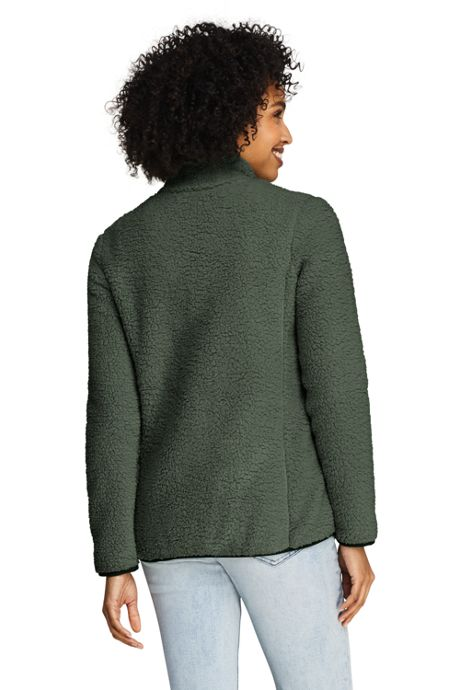 Women's Cozy Sherpa Fleece Jacket