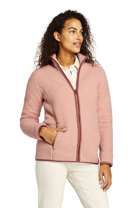Women's Tall Cozy Sherpa Fleece Jacket