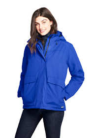 Women's Petite Hooded Squall Winter Jacket