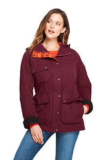Women's Water Resistant Cotton Bayfield Coat