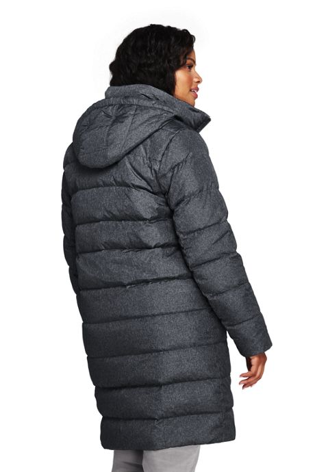 Women's Plus Size Winter Long Down Coat