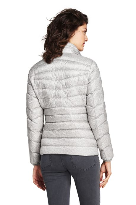 Women's Print Ultra Light Packable Down Jacket