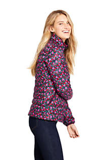 Women's Print Ultralight Packable Down Jacket, alternative image
