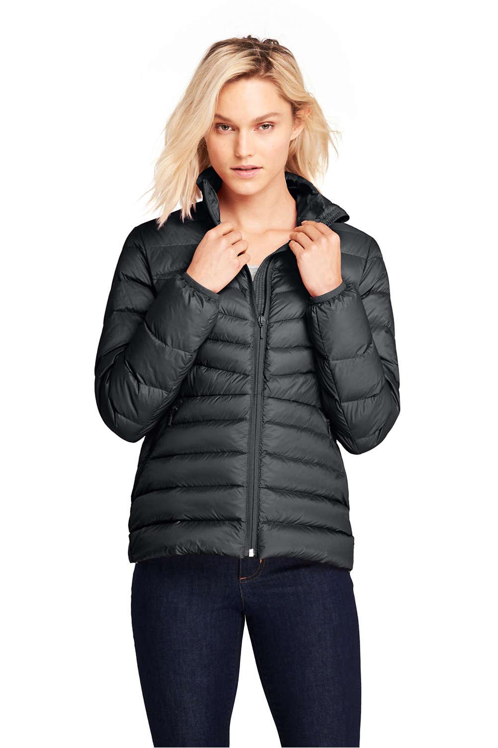 6be00290500e Women s Ultralight Down Puffer Jacket Packable from Lands  End