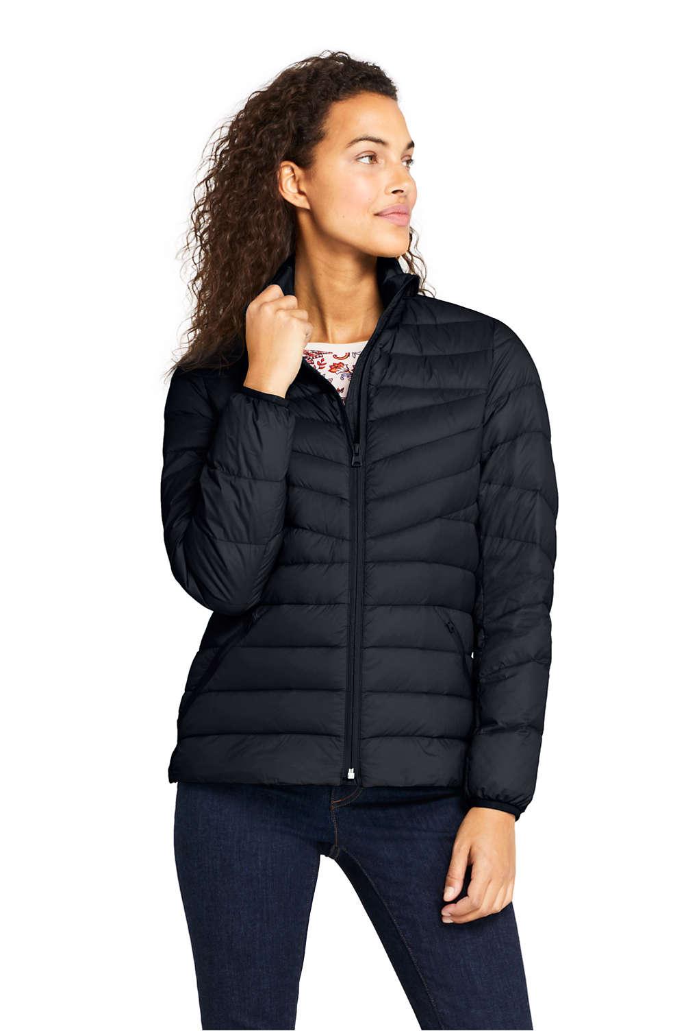 3ece12af544 Women's Ultralight Packable Down Jacket from Lands' End