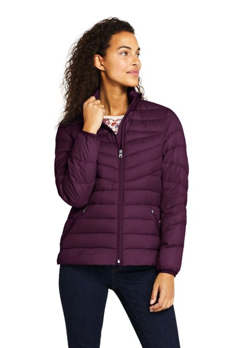 Women's Petite Ultralight Packable Down Jacket