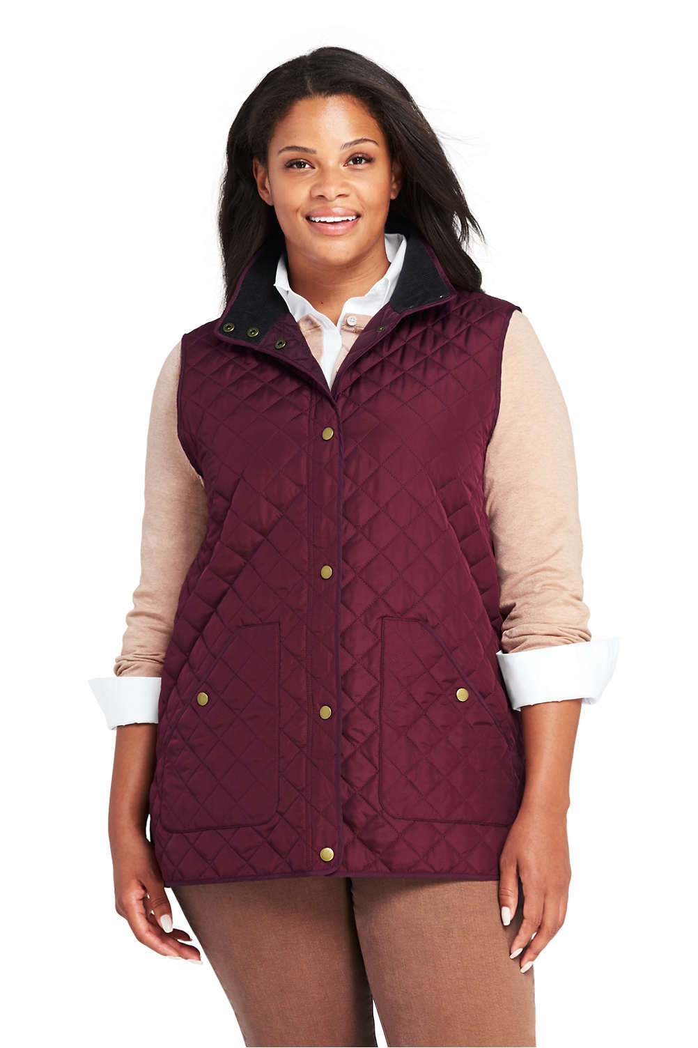 b5872fd46af Womens Plus Size Quilted Barn Jacket - Best Quilt Grafimage.co