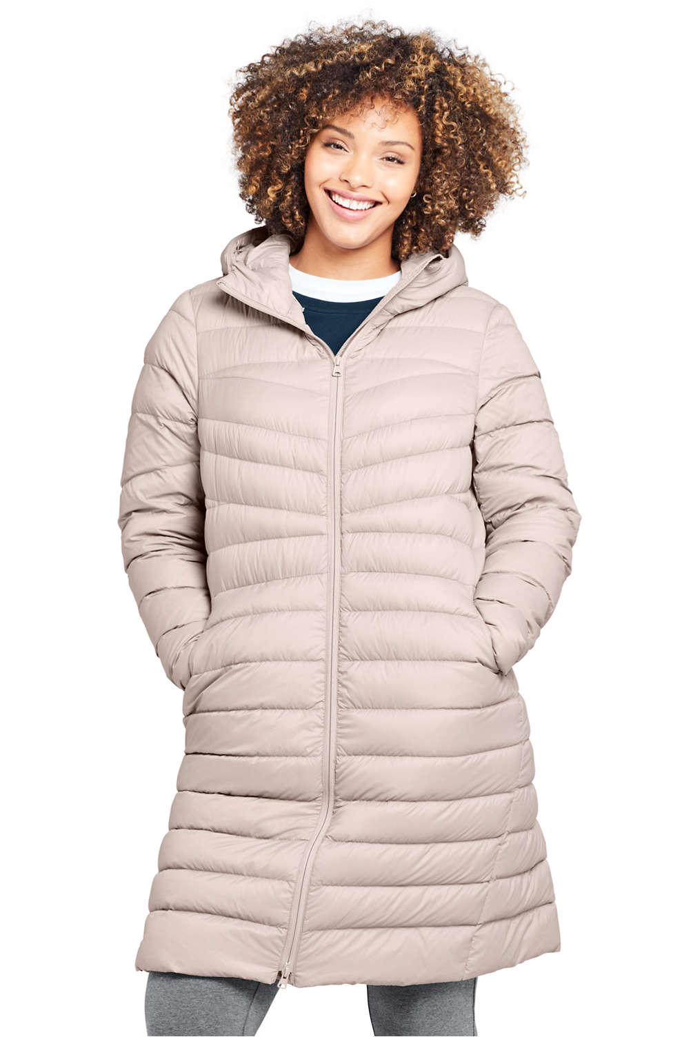 online here large assortment exceptional range of colors Women's Plus Size Ultralight Packable Long Down Coat