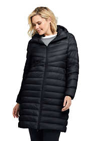 Women's Plus Size Petite Ultralight Packable Long Down Coat