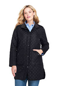 Women's Plus Size Quilted Barn Insulated Coat