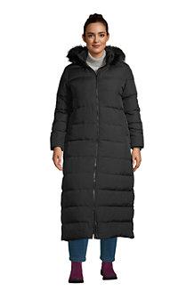 Women's Hooded Maxi Down Coat