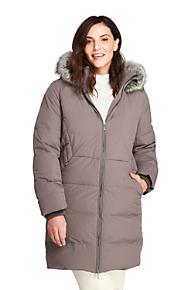 a6eb347595f Women s Plus Size Stretch Long Down Coat