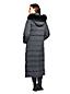 Le Manteau Long en Duvet Capuche Fausse Fourrure, Femme Stature Standard