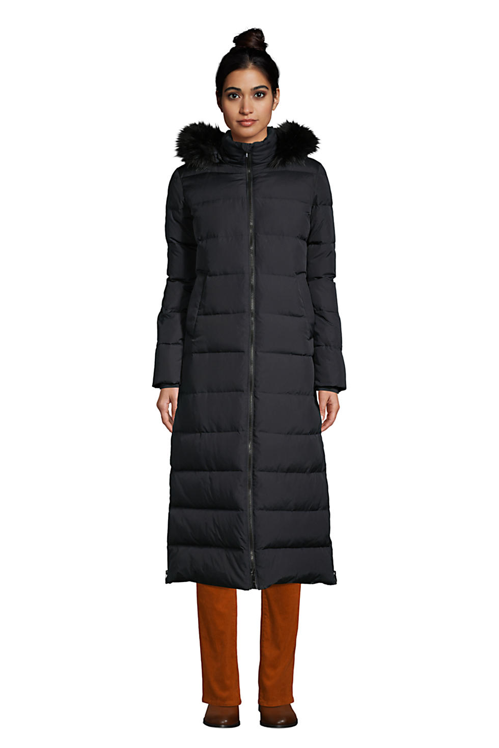 Lands End Womens Winter Maxi Long Down Coat with Hood (various colors/sizes)