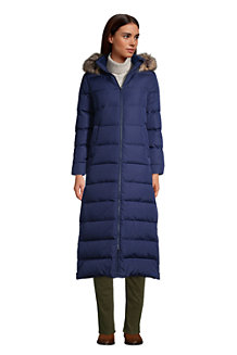 Women's Hooded Maxi Down Coat