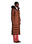Le Manteau Long en Duvet Capuche, Femme Stature Petite