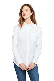 Women's Long Sleeve Classic Oxford Shirt