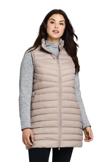Plus Size Winter Vests, Women\'s Down Vests, Plus Size Vests ...