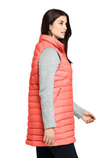 Women's Plus Size Ultralight Packable Down Vest, Unknown